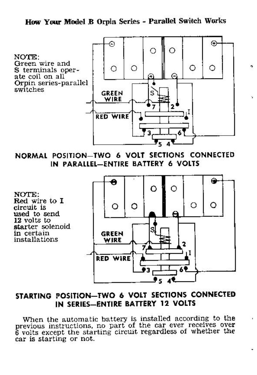 New Castle Battery 6 12 Volt Hudson Essex Terraplane Open Forum Series And Parallel Circuit Here